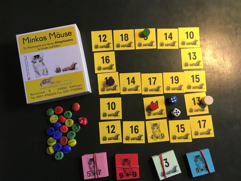 Minkas Mäuse - Spielplan
