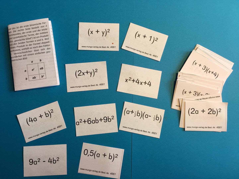 Binomische Formeln