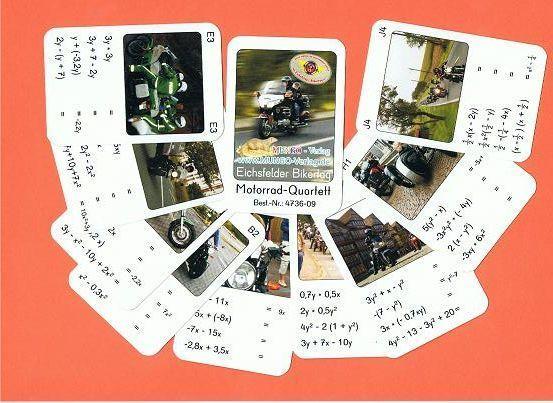 Motorrad-Quartett